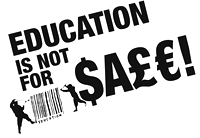 Education ist not for sale!