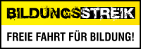 Bildungsstreik Mnster - Freie Fahrt fr Bildung!