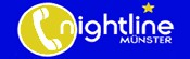 Nightline Studentisches Sorgentelefon Telefon-Nr. (0251) 8345400 (Mo-Fr,  21-1 Uhr)